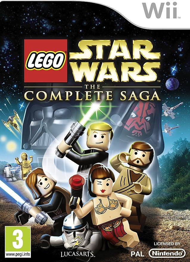 Lego Star Wars - The Complete Saga [Importación Inglesa]: Amazon ...