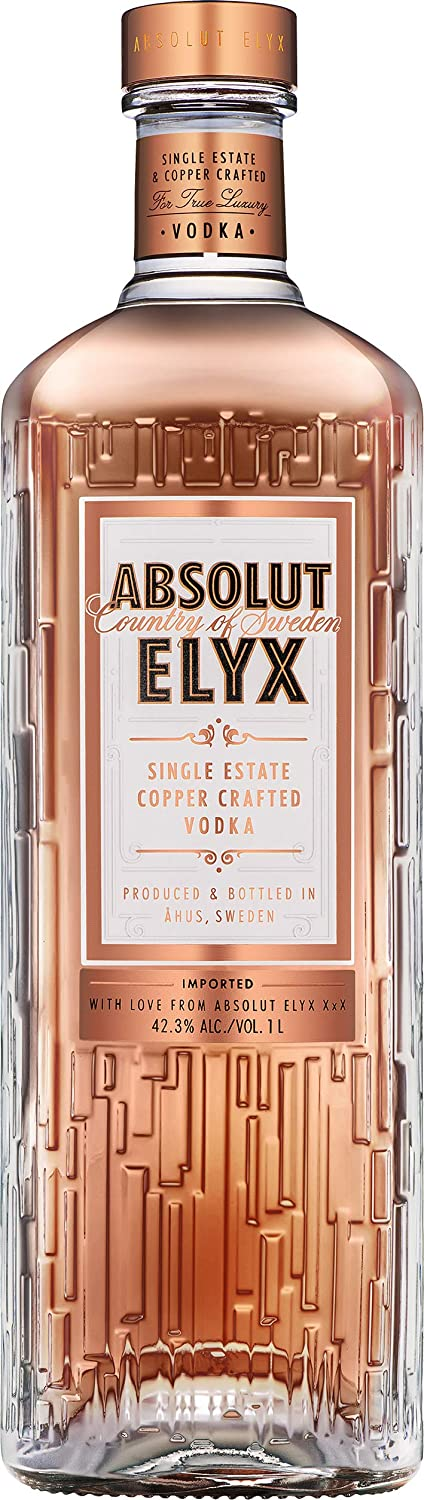 Absolut Elyx Vodka Sueca