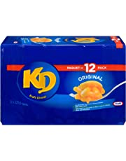 KD KRAFT DINNER - Original Macaroni & Cheese 225G, Pack of 12