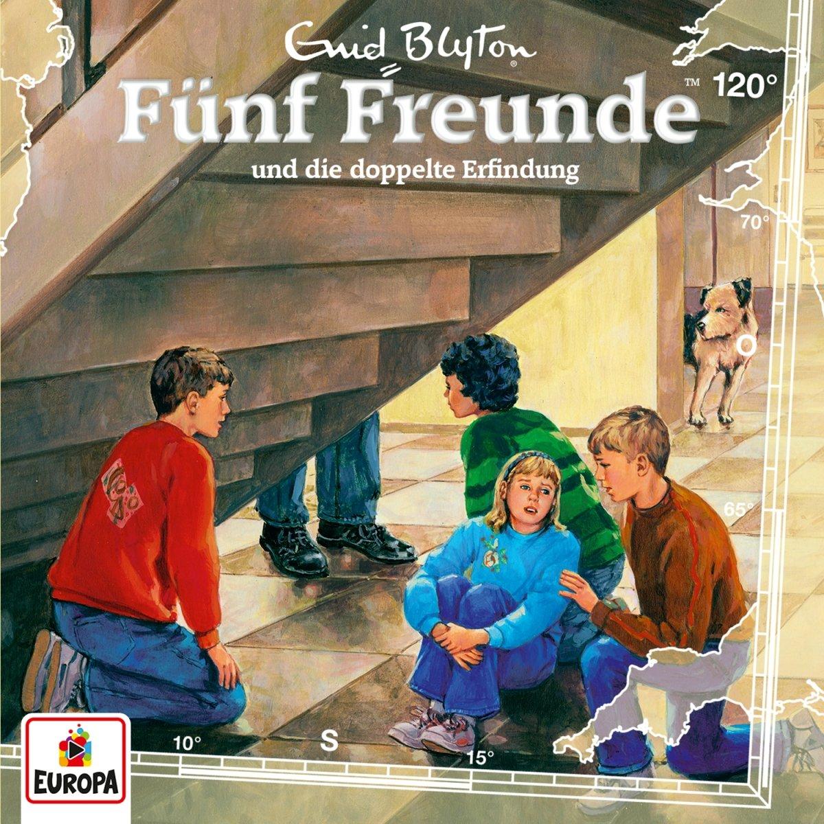 Fünf Freunde (120) Fünf Freunde und die doppelte Erfindung - Europa 2017