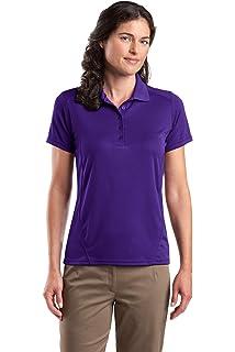 Bekleidung Fitness & Jogging Sport-Tek WomenS Micropique Sport Wick Polo Xl Purple