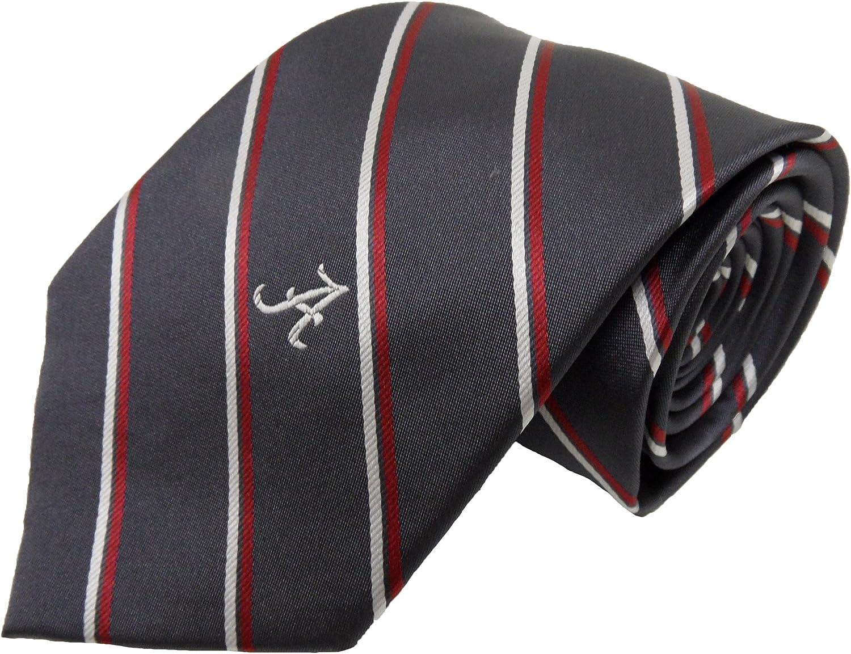 NCAA Alabama Crimson Tide Tone on Tone Repeating Necktie Crimson One Size