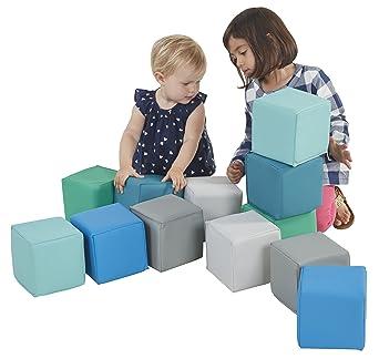 Amazon.com: ECR4Kids softzone Patchwork bebé, contemporáneo ...