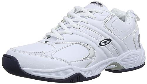 Hi-Tec Blast lite - Zapatos Hombre, Blanco (White 011), 43 EU