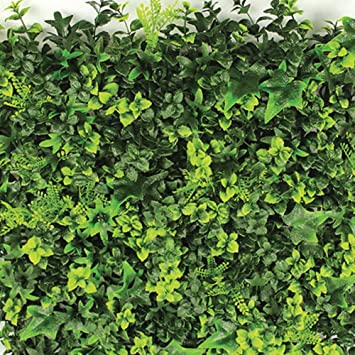 Evergreen X4 haie synthétique Green Plus 50 x 50 cm synthétique haie ...