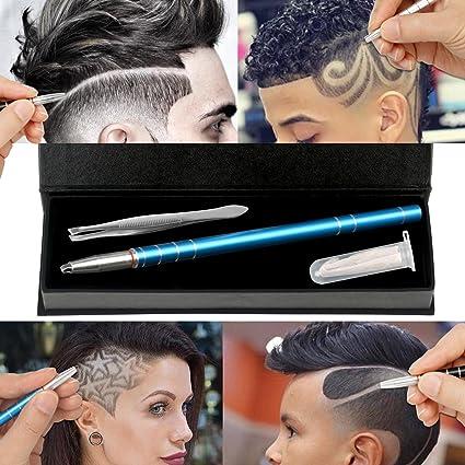MagiForet - Bolígrafo para el pelo, lápiz para afeitar el pelo ...