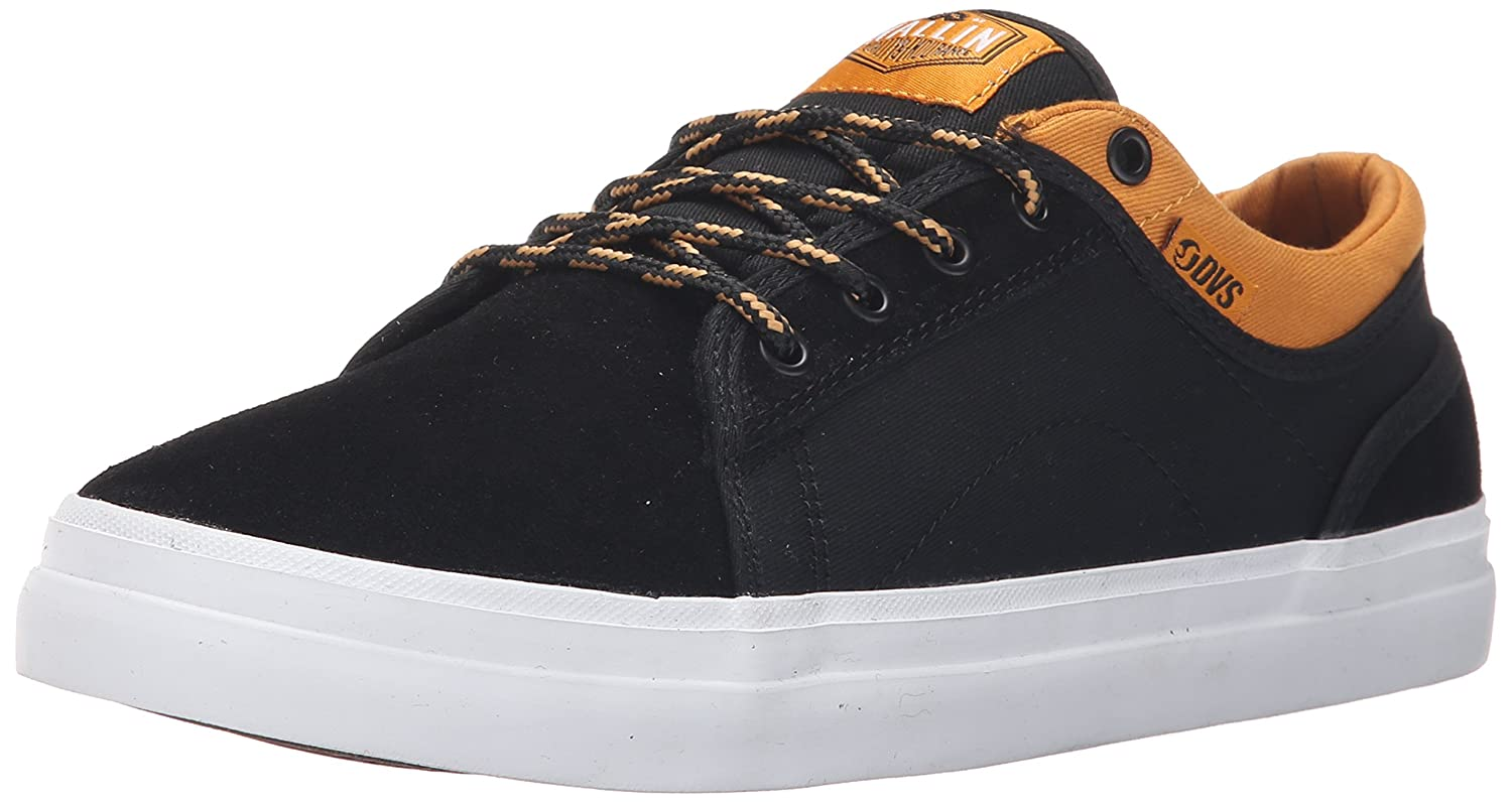 [ディーブイエス] DVS AVERSA B015XJE3QO 10.5 D(M) US Black/Tan Suede