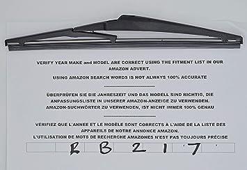 Limpiaparabrisas trasero RB217, 28 cm