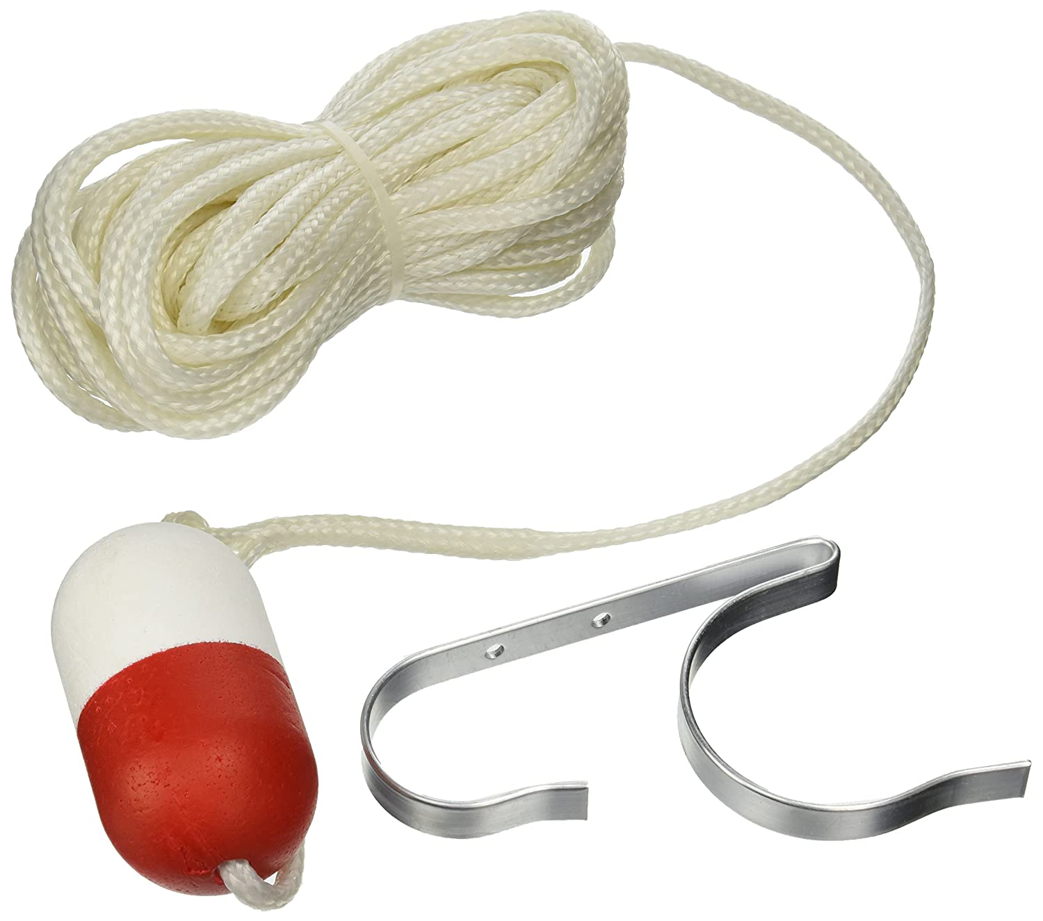 Taylor Made 374 Ring Buoy Holder with 60-Feet White Heaving Line AJG60