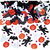 Amscan International 36702 Confetti Bright Halloween Night Decoration Set