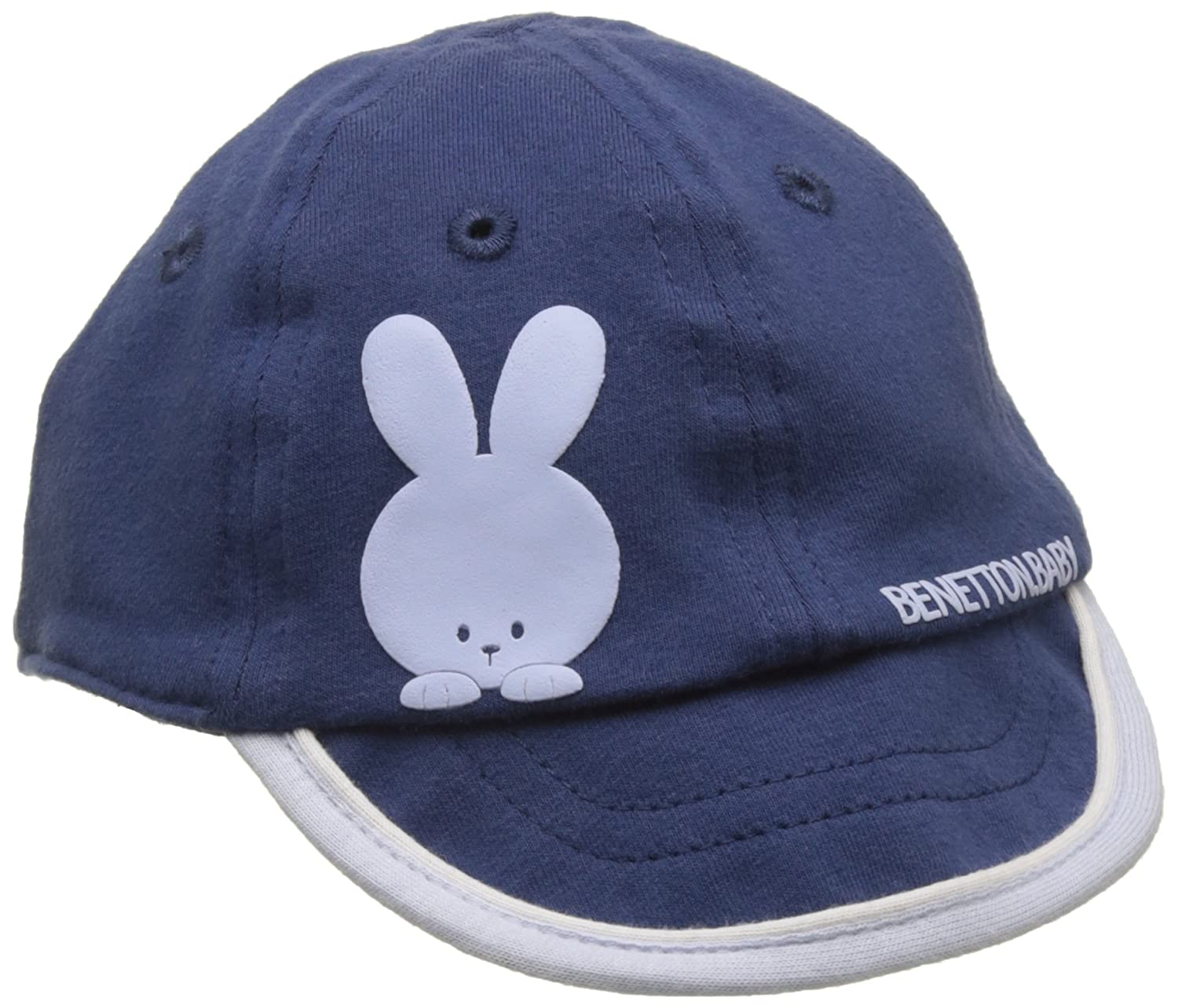 United Colors of Benetton Baby Boys 0-24m Cap Visor, Blue (Navy), 9-12  Months (Size 74)  Amazon.co.uk  Clothing 52a94bf609f
