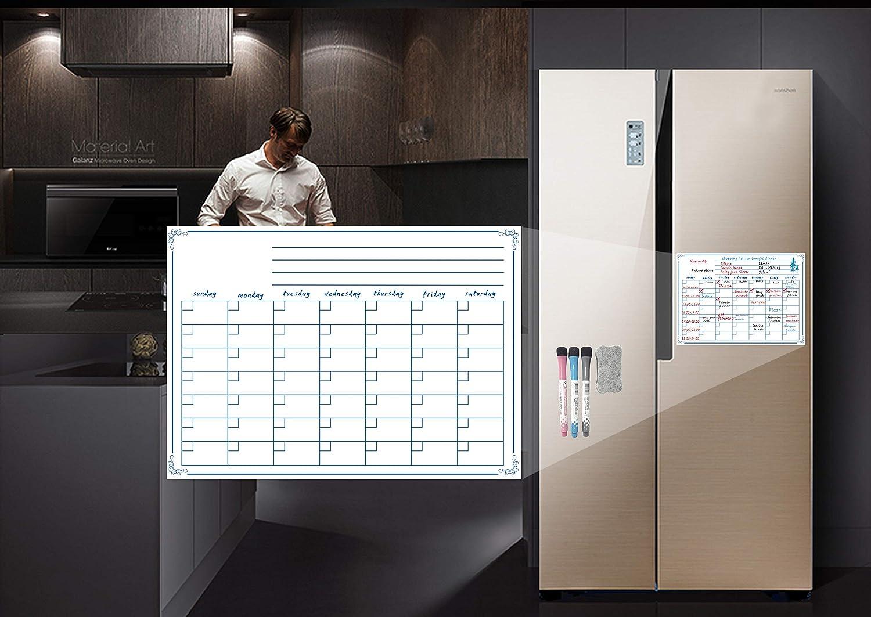 Kühlschrank Planer : Villexun kühlschrank planer monatlich beschriften und schrift