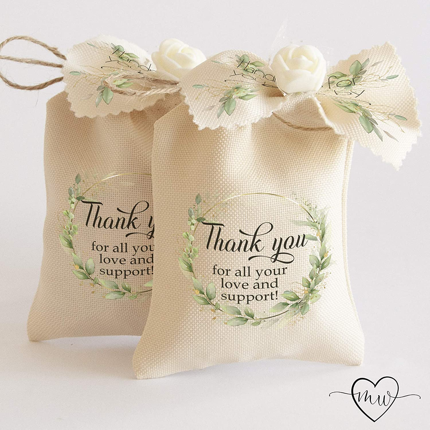 Amazon Com Wedding Favor Bags For Guests Engagement Gift