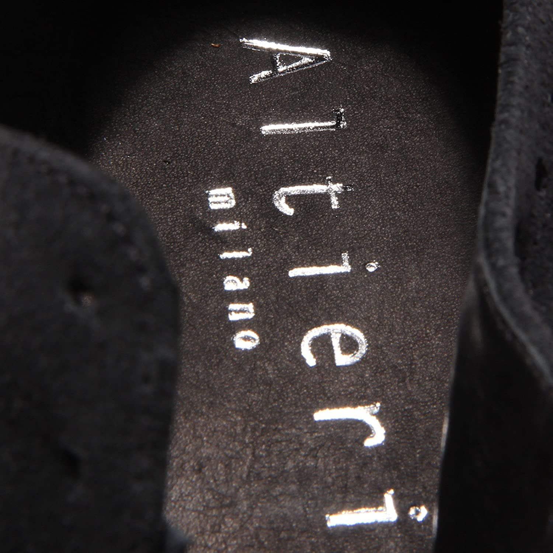 6214R scarpa inglese uomo ALTIERI MILANO scarpe blugrigio