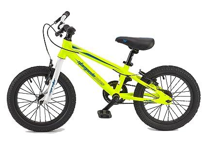 d6481cc3f49 Amazon.com : Stampede Bikes Sprinter Kids Bike, 16 Inch, Yellow ...