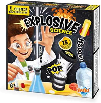 Buki France- Experimentos Explosivos, Color (2161): Amazon.es: Juguetes y juegos