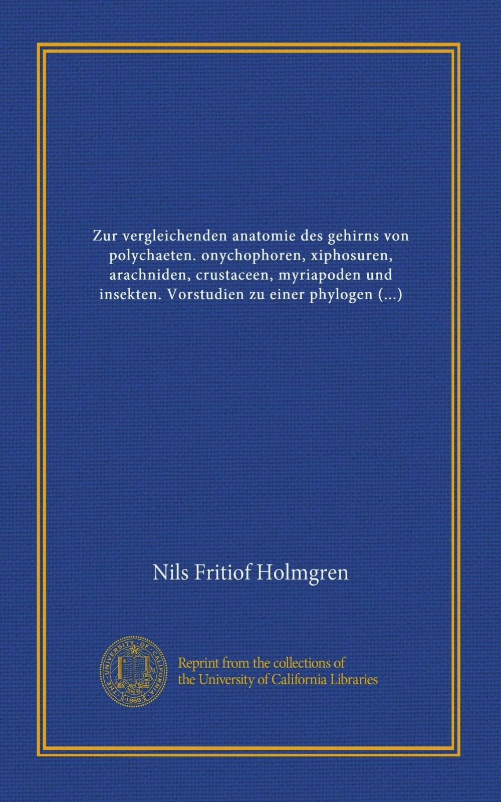 Zur vergleichenden anatomie des gehirns von polychaeten ...