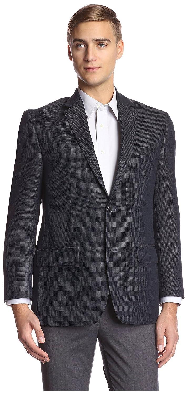 Andrew Fezza Mens 2 Button Tic Sportcoat