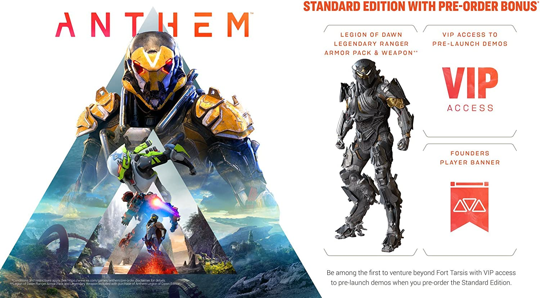 Amazon com: Anthem [Online Game Code]: Video Games