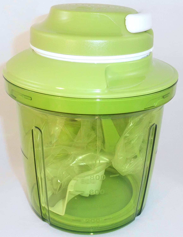 1 A Tupper Cortador de cebolla XXL - Extra estrellas Turbo Chef - verde - -- 1,35L: Amazon.es: Hogar