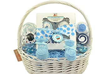 Amazon.com  NYC Baby Sweets Baby Gift Basket of Baby Treats (Blue-Boy)  Baby  sc 1 st  Amazon.com & Amazon.com : NYC Baby Sweets Baby Gift Basket of Baby Treats (Blue ...