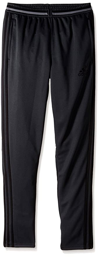 adidas Youth Soccer Condivo 16 Pants, Dark Grey/Black, XX-Small