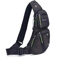 Sling Backpacks Chest Outdoor Crossbody Shoulder Bag Small Multipurpose Daypacks for Travel Cycling Men Women