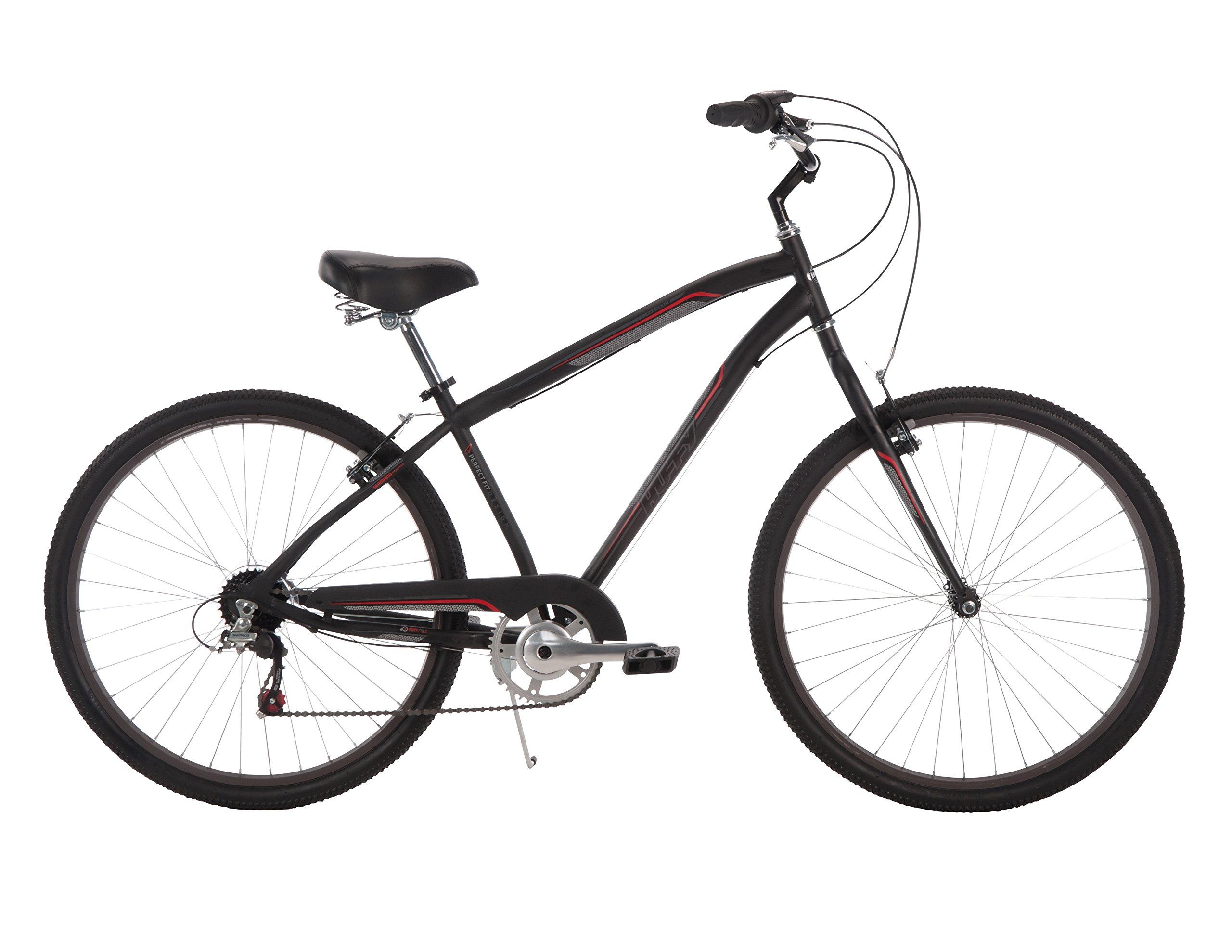 Huffy Bicycle Company Men's Parkside City Bike, 27.5''/Large
