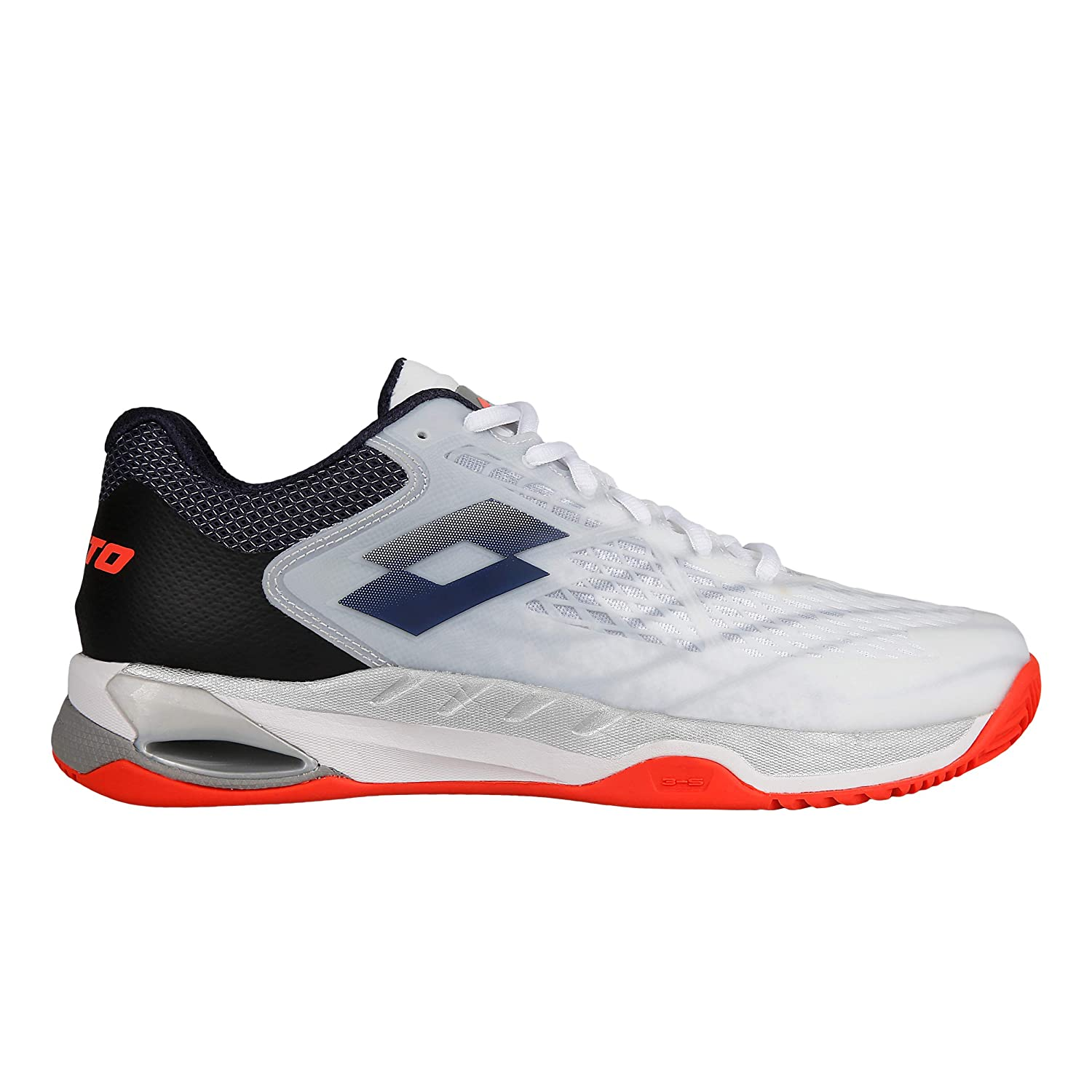 Lotto Men Mirage 100 Clay Tennis Shoes Clay Court Shoe White ...