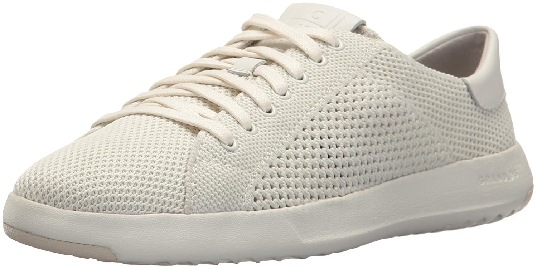 Cole Haan Women's Grandpro Tennis Stitchlite Sneaker B073RTNYFY 9 B(M) US|Chalk Vapor Grey