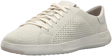 bfde5ff3f3c0 Cole Haan Women s Grandpro Tennis Stitchlite Sneaker Chalk Vapor Grey 5 ...