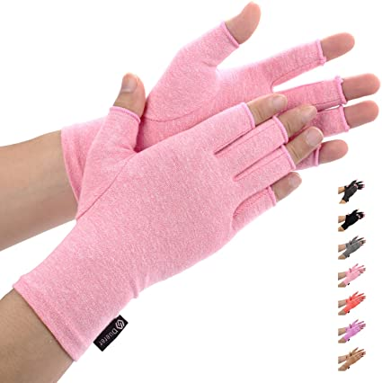 Carpal Tunnel Rheumatoid /& Osteoarthritis Hand Gloves Duerer Arthritis Gloves Women Men-Compression Gloves for Pain Relief-RSI Purple, S