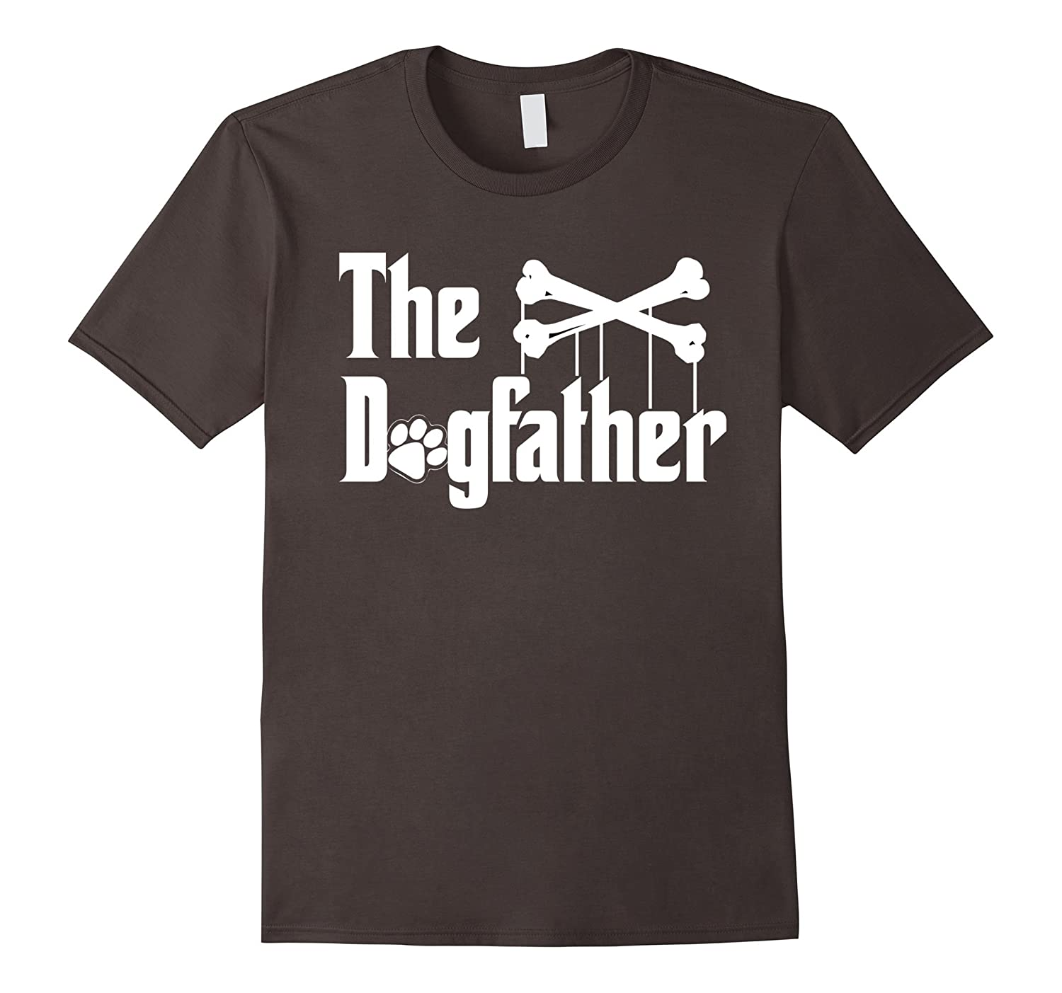 The Dogfather Shirt Dog T-shirt | Funny Father's Day Dad Tee-AZP
