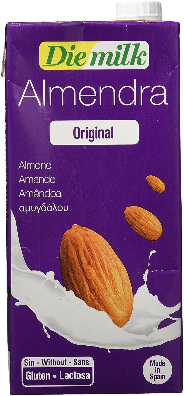 NUTRIOPS EcoMil DieMilk, Bebida de Almendra - 1000 ML.: Amazon.es: Alimentación y bebidas
