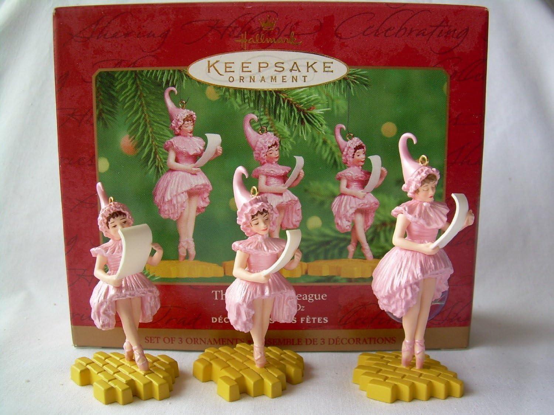 QX6604 The Lullabye League Wizard of Oz (set/3) 2000 Hallmark Keepsake Ornament