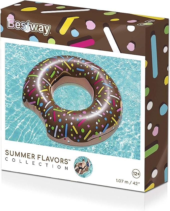 Bestway 36118 Flotador en forma de rosquilla colores aleatorios surtido