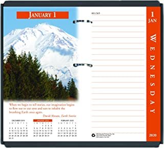 product image for House of Doolittle 2020 Desk Calendar Refill, Daily, Earthscapes, Fits #17 Base, 3.5 x 6 Inches, January - December (HOD417-20)