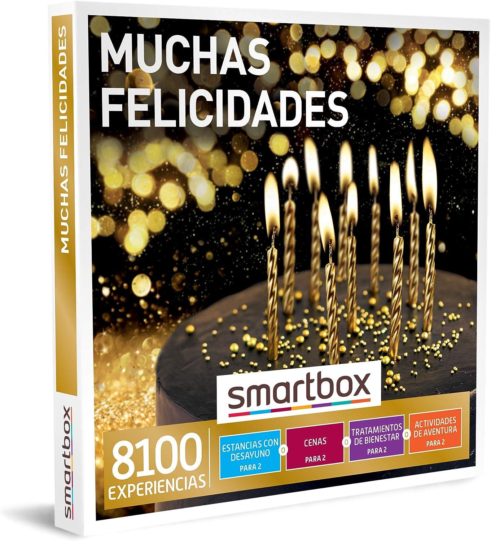SMARTBOX - Caja Regalo - Muchas felicidades - Idea de Regalo - 1 Experiencia de Estancia, gastronomía, Bienestar o Aventura para 2 Personas: Amazon.es: Deportes y aire libre