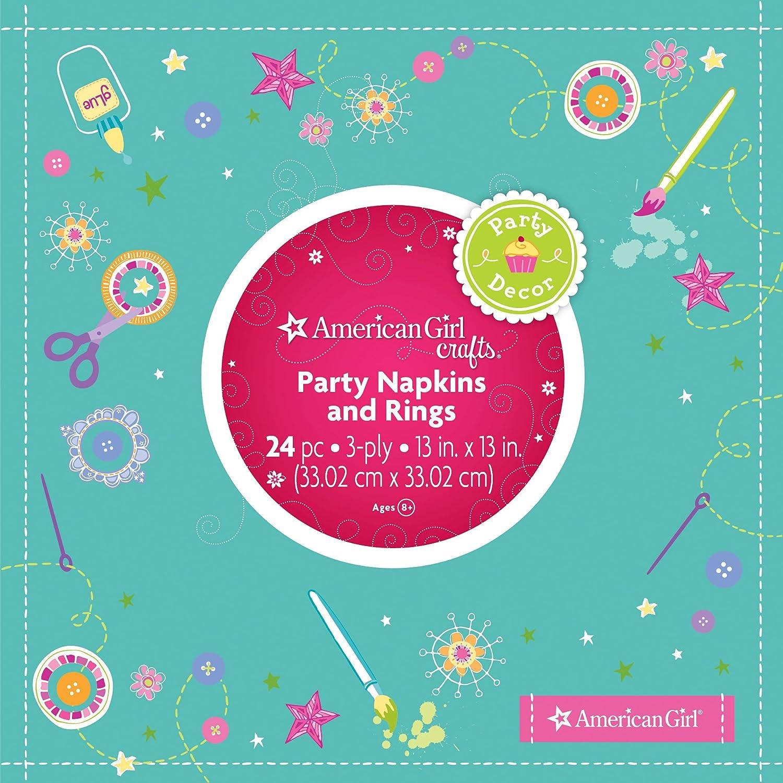 American Girl Crafts Napkins And Rings EKSuccessBrands 30-629431