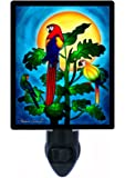 Tropical Night Light - Parrot Paradise 2