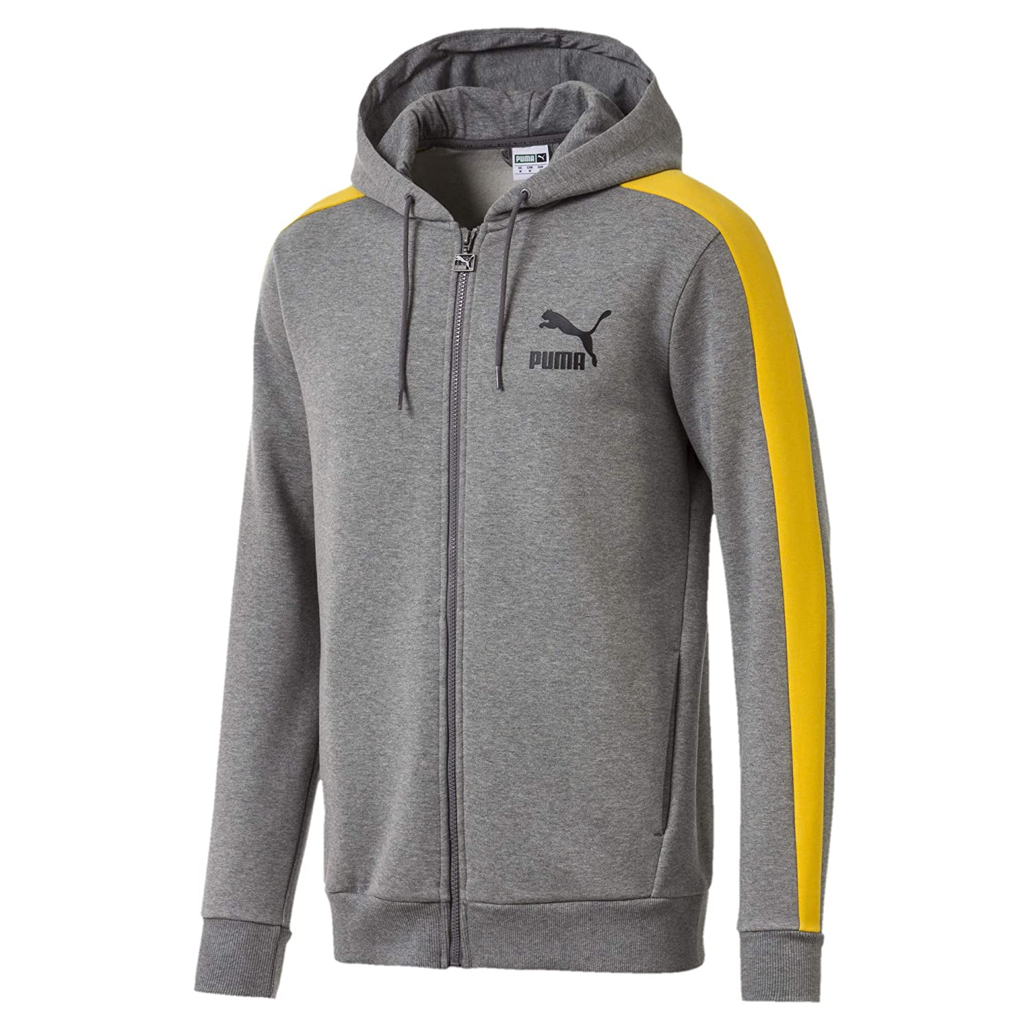 PUMA Mens Classics T7 Logo Full Zip Hoody at Amazon Mens Clothing store: