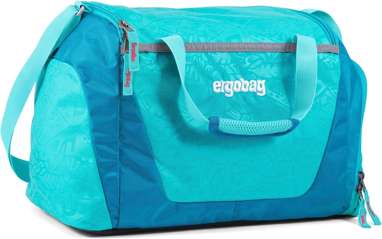 Tragegriffe und Umh/ängegurt wasserdichtes Seitenfach 20 Liter ergobag Sporttasche 500 g