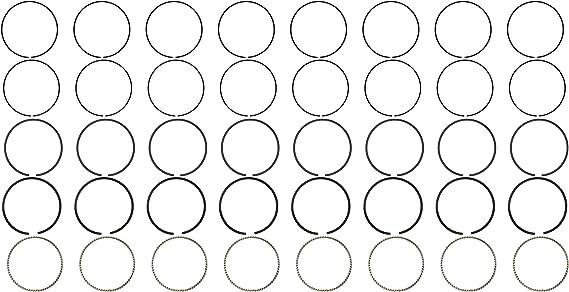 Hastings 2M5508S020 Single Cylinder Piston Ring Set