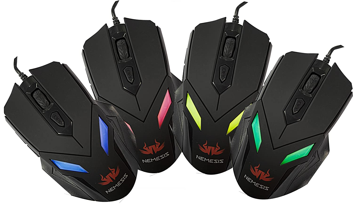 Nemesis Zark wired gaming mouse with LED light - The Must Have and ...