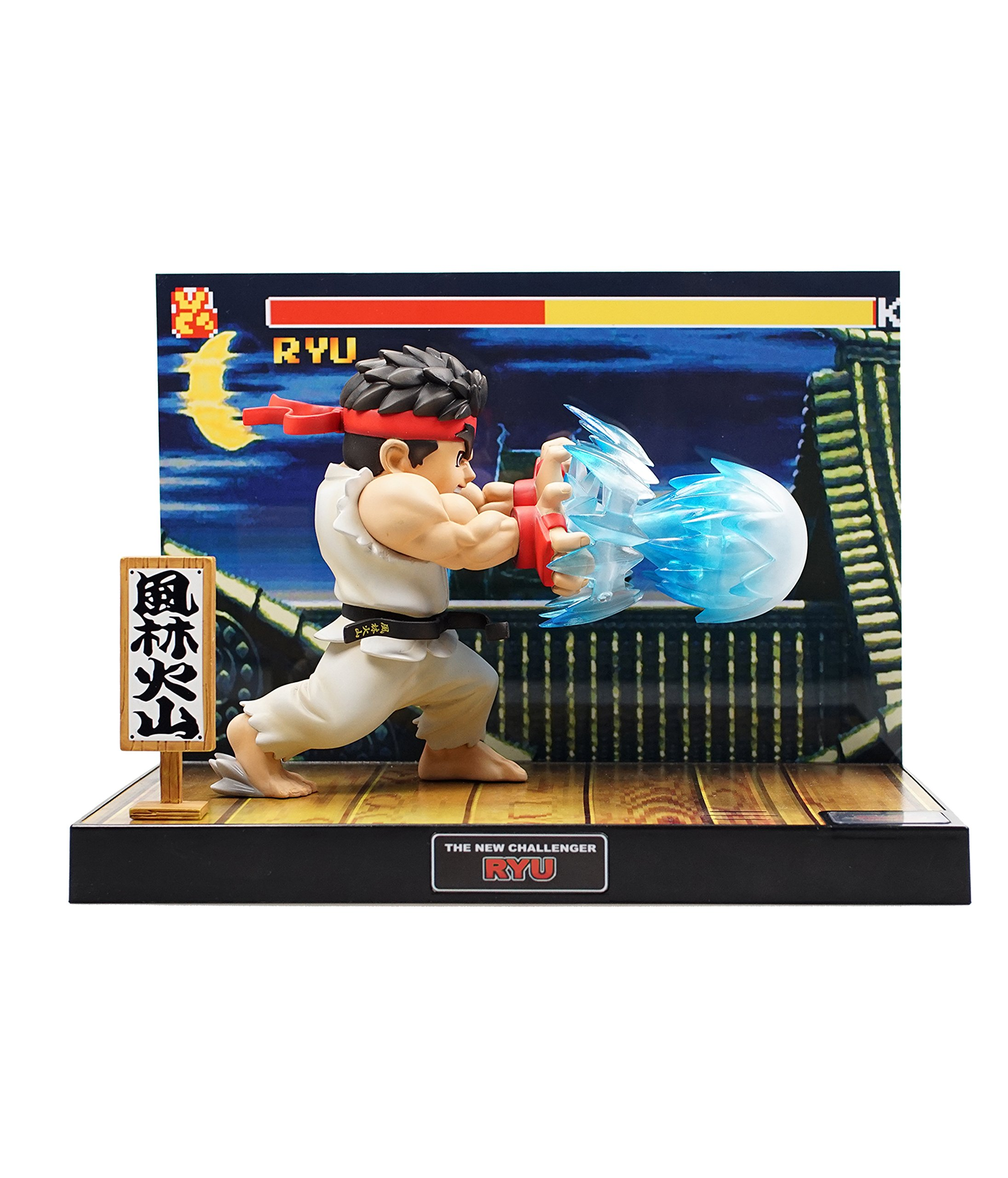 Tier1 Accessories Ryu Street Fighter Fully Licensed LED Light and Sound Figure - PlayStation 3;PlayStation 2;PlayStation;