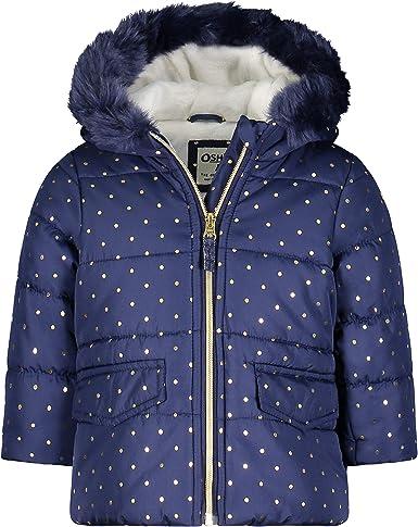 Osh Kosh Girls Perfect Puffer Jacket