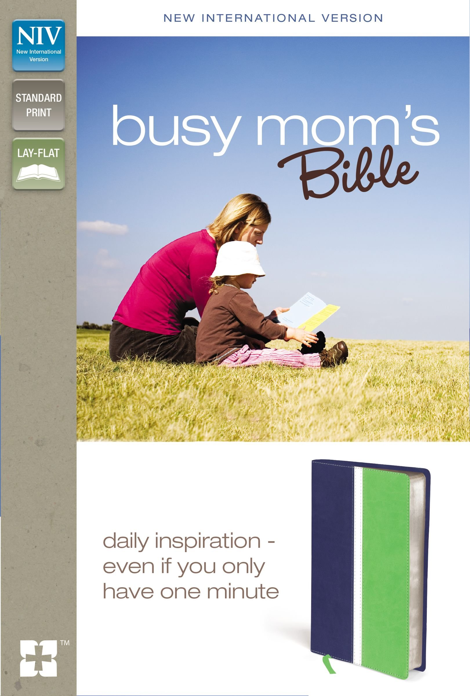NIV, Busy Mom's Bible, Imitation Leather, Blue/Green: Daily Inspiration Even If You Only Have One Minute pdf