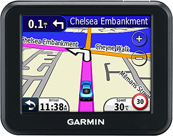 Garmin Nüvi 30 - GPS para coches de 3.5