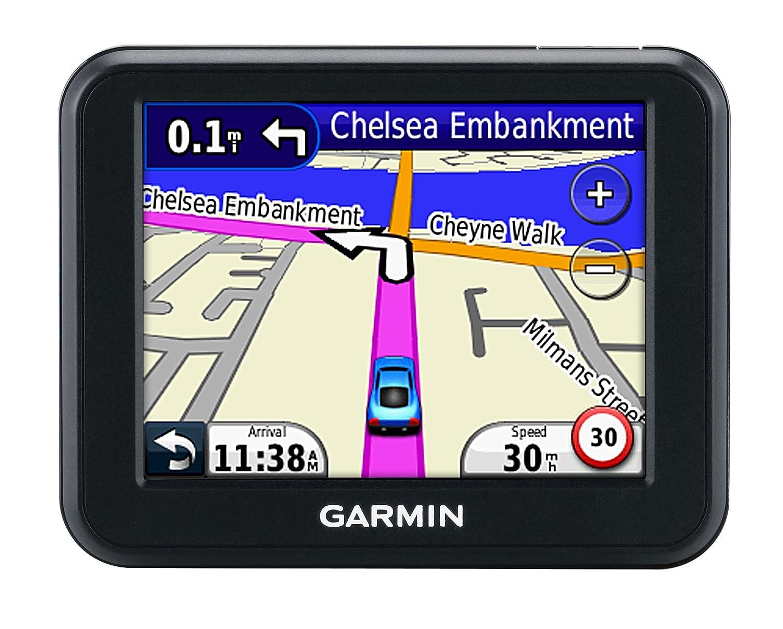Garmin Nuvi Sat Nav With UK And Western Europe Maps - Garmin maps for united kingdom