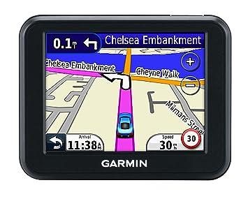 Garmin Nüvi 30 - Navegador GPS para coches (mapas España y Portugal, pantalla 3.5